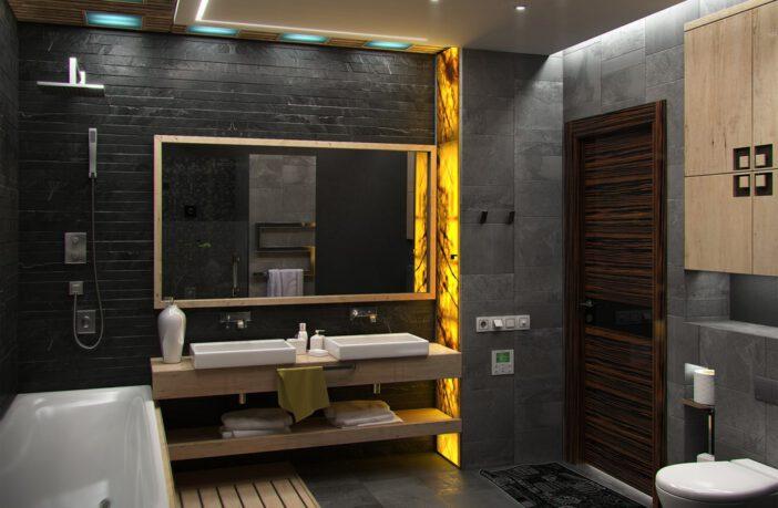 Nieuwe trend in de badkamer