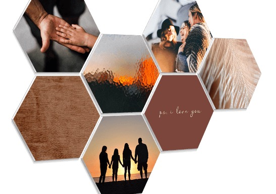 Hexagon foto